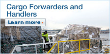 Cargo Forwarders and Handlers. Learn more.