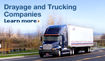 Drayage and Trucking Companies. Learn more.