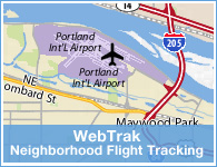 Neighborhood Flight Tracking