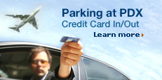 Parking at PDX Credit Card Option. Learn more.
