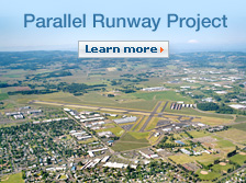 Parallel Runway Project. Learn more.