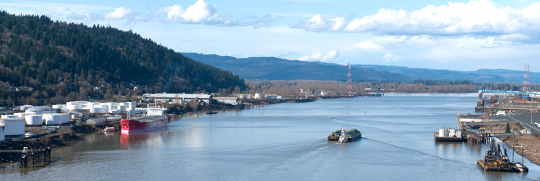 Willamette River Dredged Material Management Plan