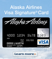 Alaska Airlines Visa Signature Card. Apply Now.